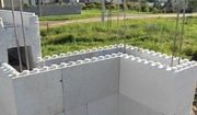 Несъемная опалубка для строительства стен здания