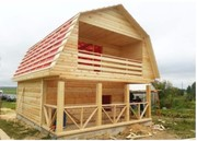 Недорого Построим Дом из бруса на вашем участке в Жодино