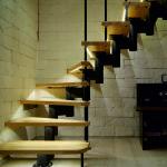 Межэтажные лестницы на металлическом каркасе