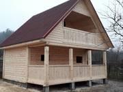 Дом-Баня из бруса готовые срубы с установкой-10 дней недорого Жодино
