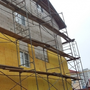 Отделка фасадов под ключ выполним в Жодино и районе