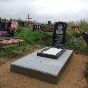 Памятник под ключ, ограды,  благоустройство могил. Жодино и рн