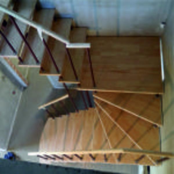 Межэтажные лестницы на металлическом каркасе 6