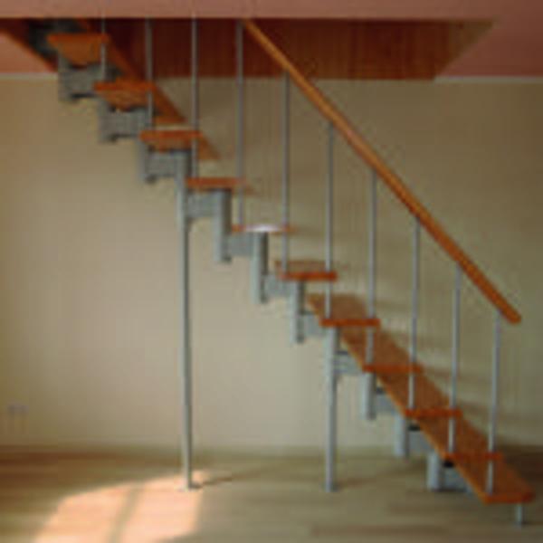 Межэтажные лестницы на металлическом каркасе 7