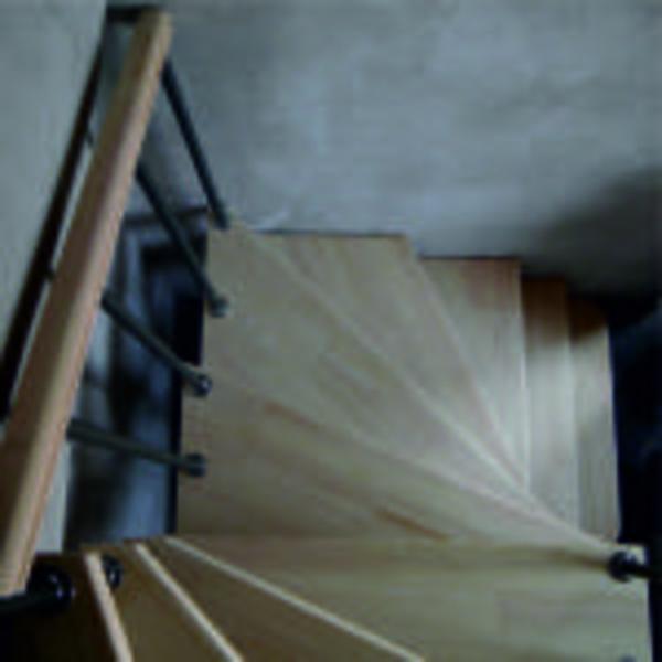 Межэтажные лестницы на металлическом каркасе 8
