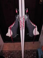 Продам лыжи Taiga с ботинками