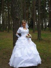Продам свадебное платье р 44 46